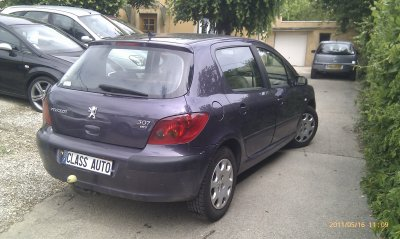 peugeot 307 2l hdi 90cv an 04 2002 175000kms vendu le 27. Black Bedroom Furniture Sets. Home Design Ideas