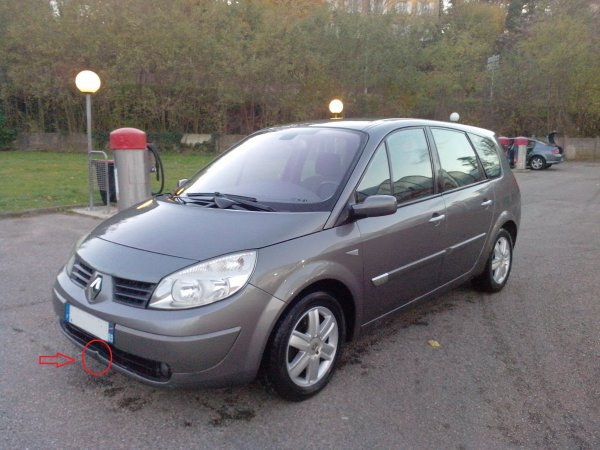 renault scenic dci 120cv 7 places an 10 2004 170000km. Black Bedroom Furniture Sets. Home Design Ideas