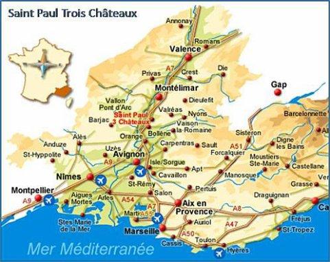 Bienvenue saint paul trois ch teaux bazard - La table des seigneurs saint paul trois chateaux ...