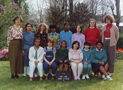 Ecole bourg la reine 1989 1990 ecole bourg la reine for Garage sireine auto bourg la reine