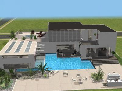maison o o tout pour vos sims2 o o. Black Bedroom Furniture Sets. Home Design Ideas