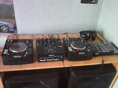 wwaaoouu 2 platine denon table de mixage denon et table de sample akai super matos blog de. Black Bedroom Furniture Sets. Home Design Ideas