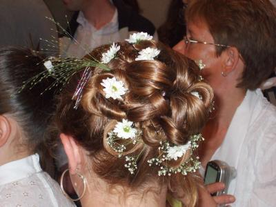 Ma coiffure pour la communion ma vie mes zamis mes dlirs - Coiffure pour communion ...
