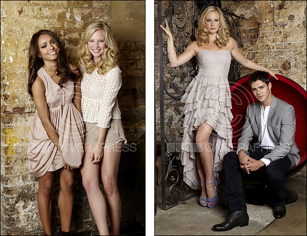 Nouveau photoshoot Candice Accola  Kat Graham et Steven R  McQueenKat Graham And Steven R Mcqueen