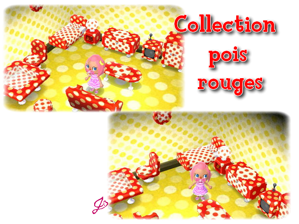 Catalogue: Collection Pois Rouges