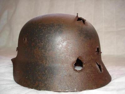 les pi ces de fouille casque allemand m40 collection us wwii. Black Bedroom Furniture Sets. Home Design Ideas