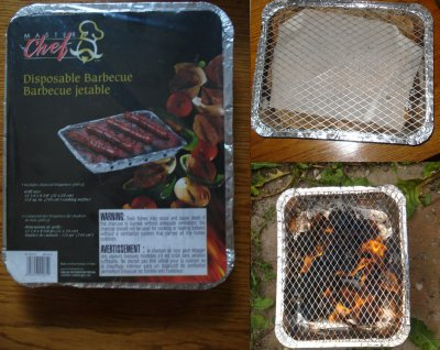 Bbq jetable tom chez les caribous - Barbecue jetable gifi ...