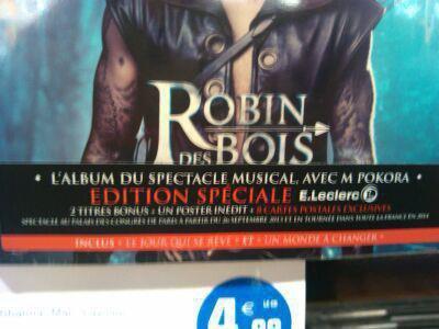 �dition sp�ciale E.Leclerc de Robin des bois > �dition limit�e + 8 cartes exclusives dans le digipack. Merci Matt C. pour l'info !