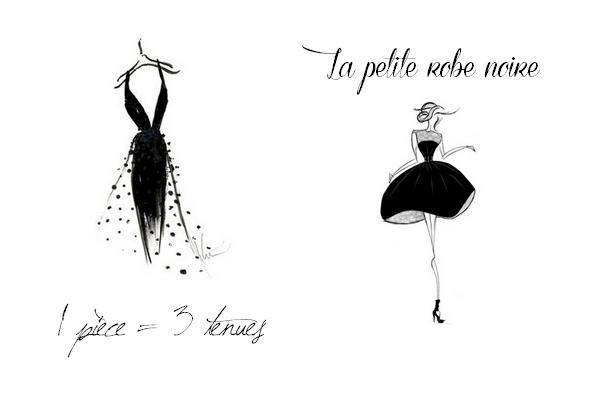 1 pièce = 3 tenues | La petite robe noire