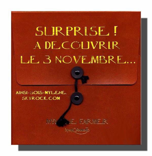 Le 3 novembre...