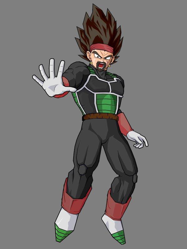 Bardock Fusion With King Vegeta King Vegeta et de Bardock