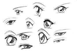 comment dessiner des yeux de fille