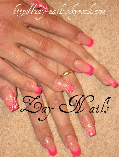Rose fluo zay nail 39 s ongles en gel extensions de cils - Gel rose fluo ...