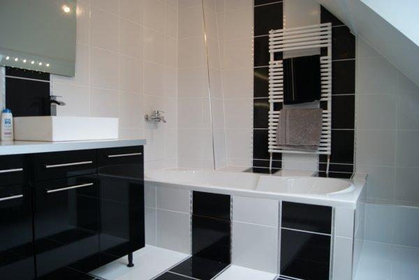 Salle de bain notre nid d 39 amour for Plan de travail meuble salle de bain