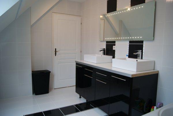 Fabriquer meuble salle de bain avec meuble cuisine for Meuble salle de bain avec meuble cuisine