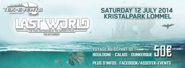 Bus pour Last World - 12 juillet 2014 - Lommel (Be)
