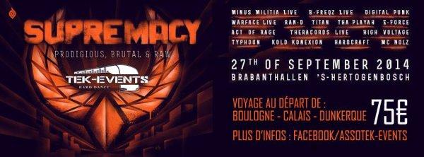 Bus pour Supremacy - samedi 27 septembre 2014 (nl)
