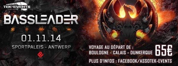 "Bus pour "" Bassleader "" - samedi 01 novembre , Anvers"