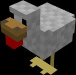 Les animaux la vache et la poule minecraft - Poule minecraft ...