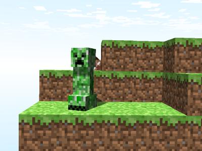 Les Monstres : Creeper , Araign�e , Squelete , Araign�e/Squelette .