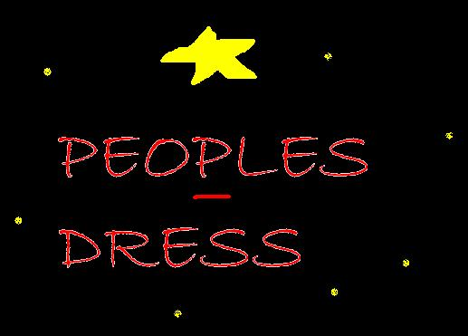peoples-dress
