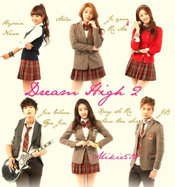 Les personnages de dream high
