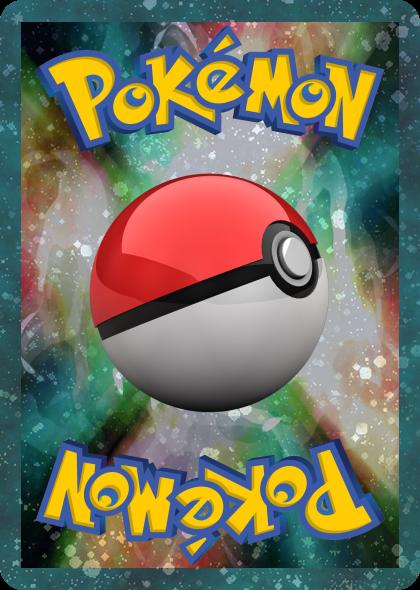 Dos personnalis mes cr ation de cartes pokemon - Imprimer une carte pokemon ...