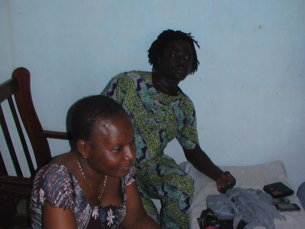 Visite Touristiquede Carole Amédée avec L'association humaniraire JEV-TOGO