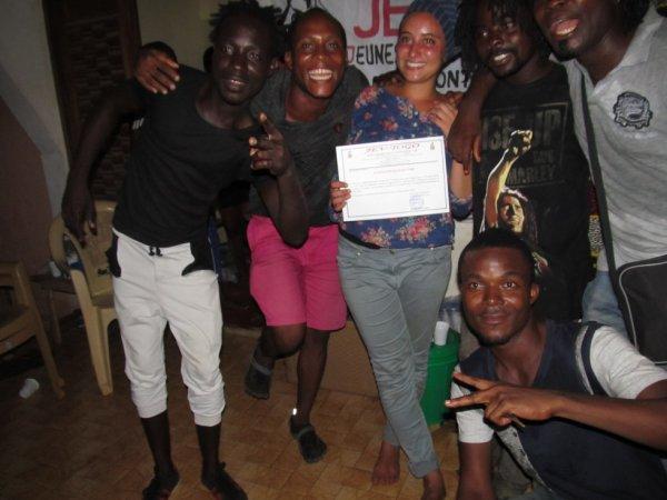 Soirée européenne au Togo