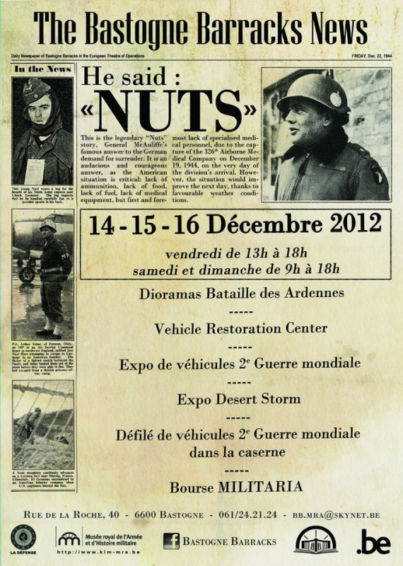 NUTS DAY 14-15-16 d�cembre 2012.