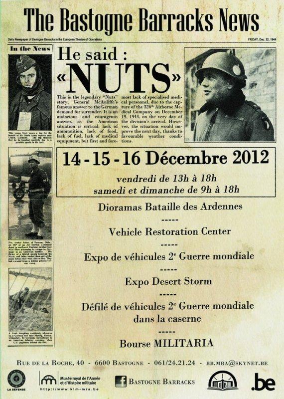 NUTS DAY 14-15-16 d�cembre 2012.