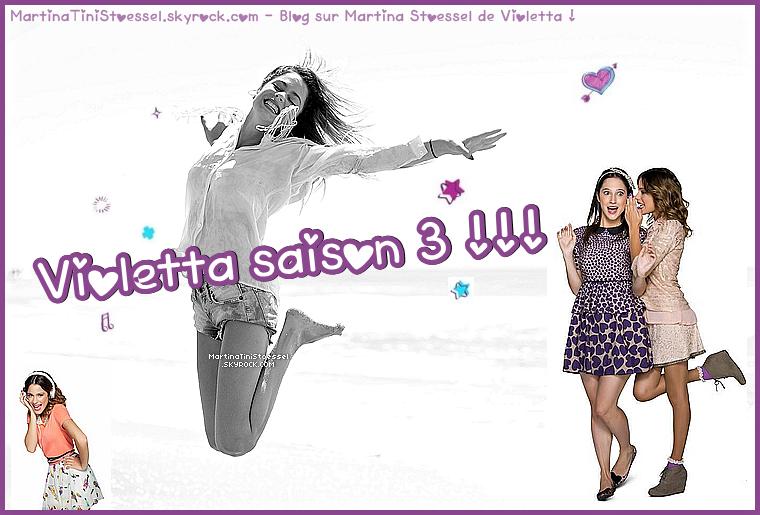 Articles de martinatinistoessel tagg s violetta saison 3 l 39 actualit de martina stoessel - Photo de violetta saison 3 ...
