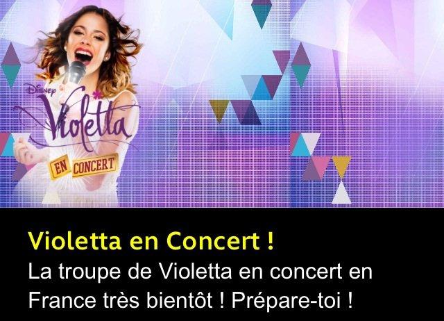 Grosse info violetta en france pour un concert l 39 actualit de martina stoessel qui - Info violetta ...