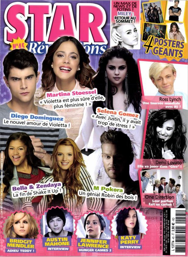 Nouveaux magazines sur � Violetta �.