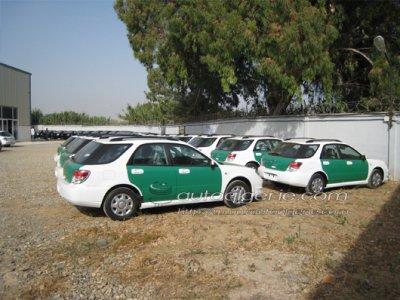 AUTO DE LA GENDARMERIE NATIONAL ALGERIEN