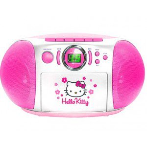 poste radio cd k7 hello kitty blog de kittyfolie. Black Bedroom Furniture Sets. Home Design Ideas