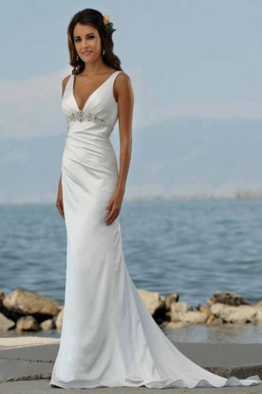Beach Wedding Dresses For Sale At Cheap Prices