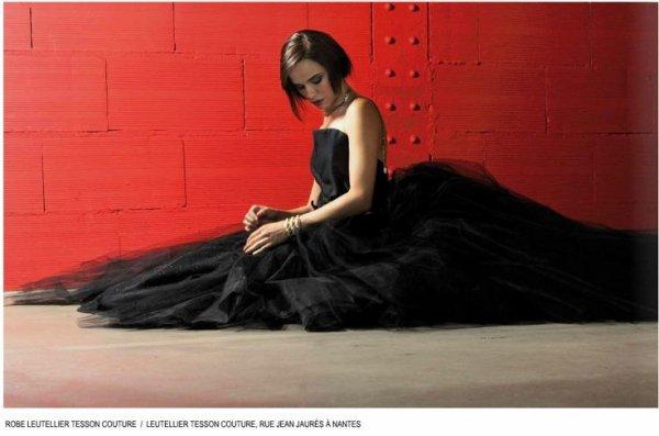 2014 October 10 - Melissa Mars dans le magasine Numero CHIK