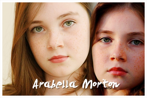 arabella morton and georgie henley