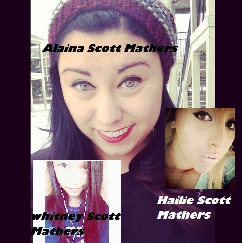 Alaina Scott Mathers , Hailie Scott Mathers , Whitney Scott Mathers 2012