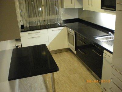 Plan de travail et table de cuisine granitset - Table plan de travail cuisine ...