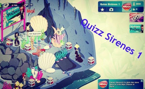 Quizz Sir�ne 1