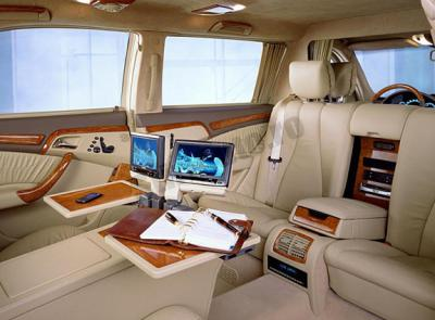 Interieur mercedes classe s 600 guard pullman avant for Mercedes classe s interieur