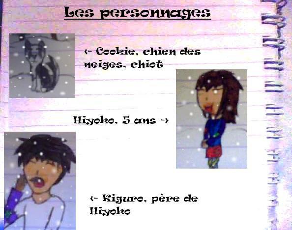 La l�gende d'Hiyoko Hocarina: Les personnages