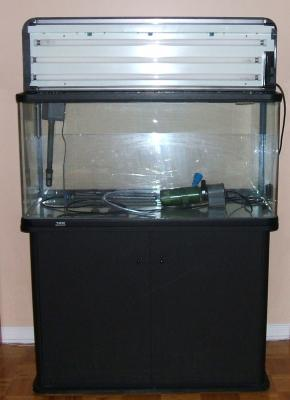 Mon aquarium atman de 250 litres my atman 66 gallons for Filtre aquarium rond