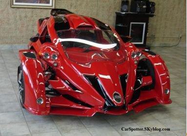 Campagna T Rex Aero 3s Exotic Carspotting
