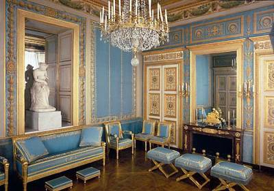 le salon bleu a compiegne napoleon 1er. Black Bedroom Furniture Sets. Home Design Ideas