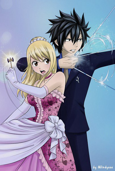 Gray and lucy fairy tail