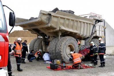 accidents engins de chantiers videos