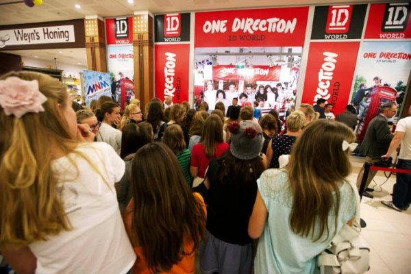 1D world en Belgique et avant premi�re de This Is Us a Bruxelles